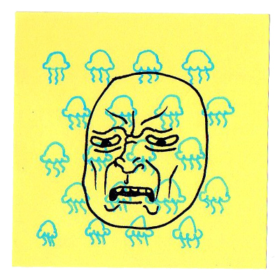 Post-it Faces